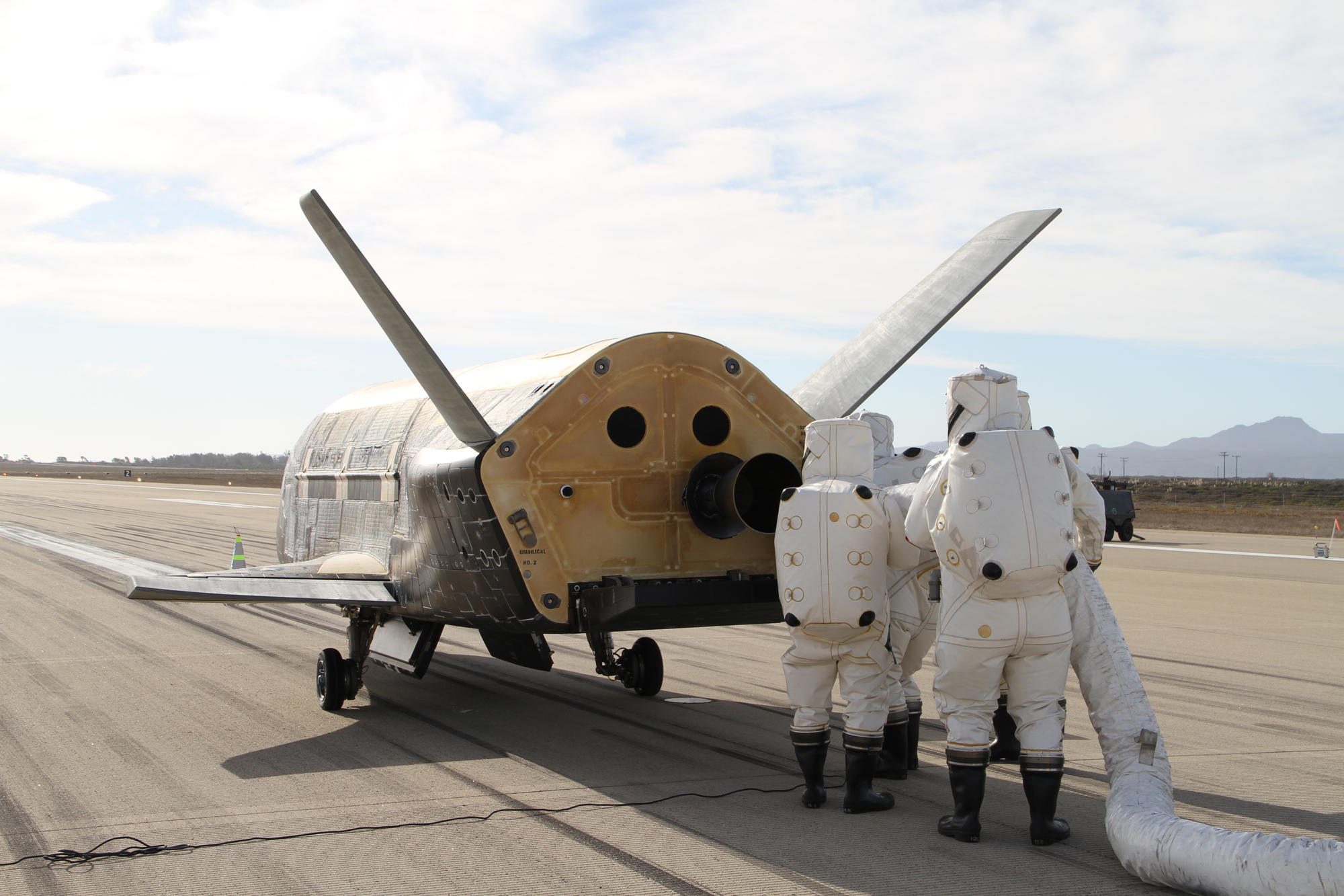 X-37B ORBITAL TEST VEHICLE-3