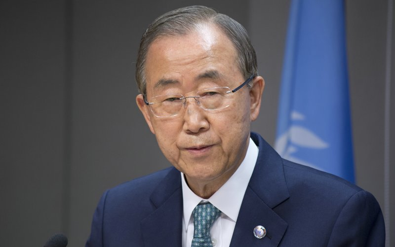 Ban Ki-Moon Speaks to Press on Iraq, Gaza, Ebola Crises