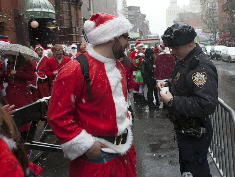 New York SantaCon 2013