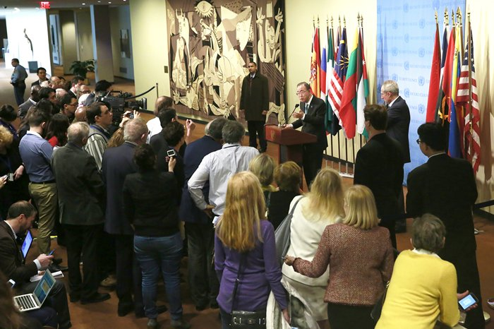 Press Encounter with The Secretary-General