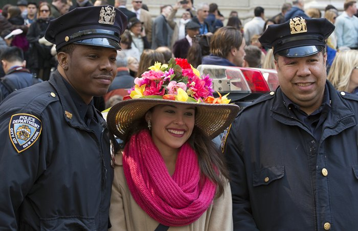 New York Easter Hat Parade 2015