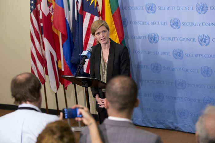 US Ambassador Samantha Power Comets on Burundi