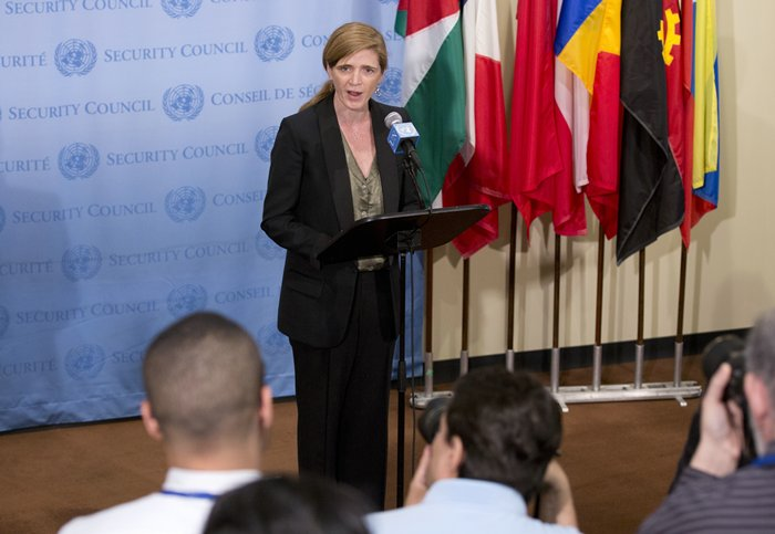 US Ambassador Samantha Power Comets on Burundi
