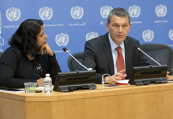 Philippe Lazzarini, Humanitarian Coordinator for Somalia