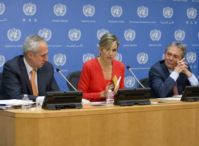 Press Conference by Queen Maxima on Inclusive Finance