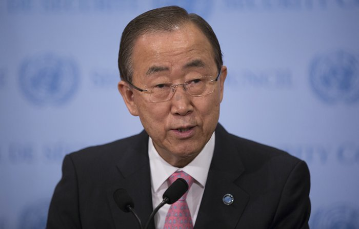 Ban Ki-Moon welcomed Pope Francis Comments on Climate Change
