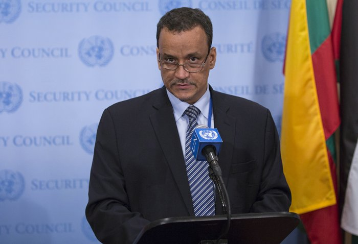Ismail Ould Cheikh Ahmed the Envoy for Yemen