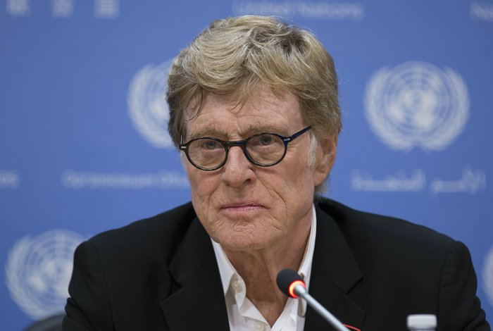Robert Redford visit to the UN