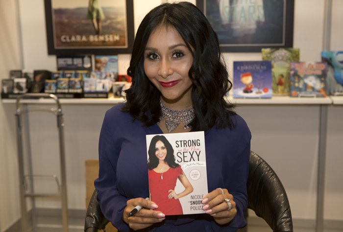 Nicole Snooki Polizzi New Book Strong is the New Sexy