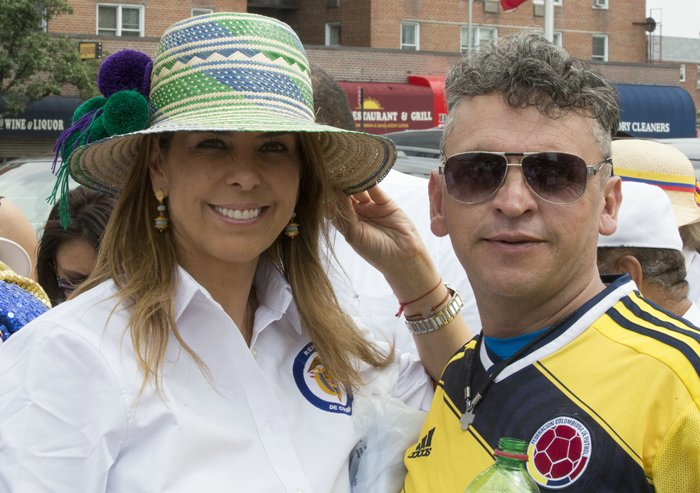 Colombian Independence Day Parade of New York 2015