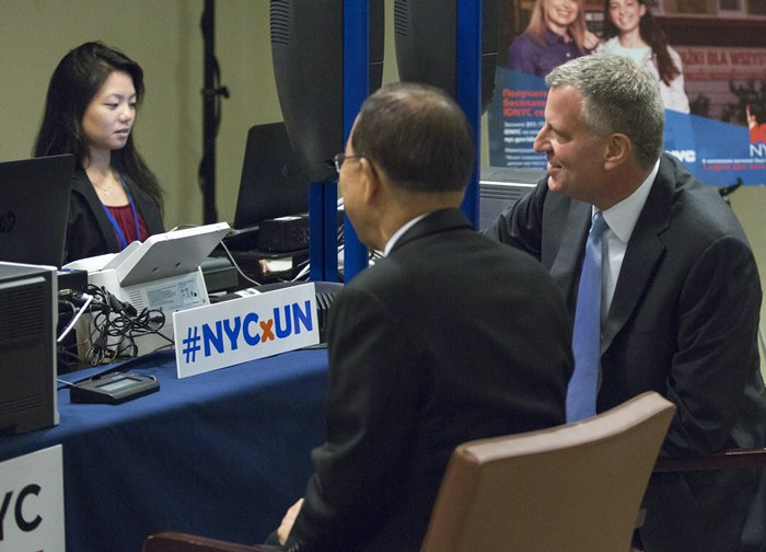 New York City ID at UNHQ