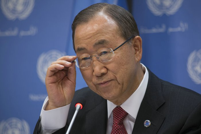 Ban Ki-moon end-of-year press conference