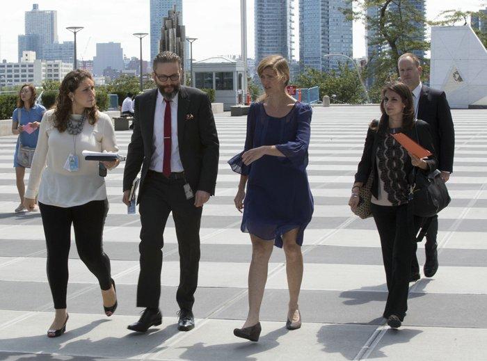 Samantha Power Living the UN