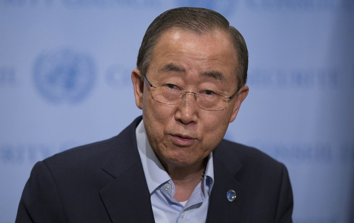Ban Ki-moon address killing and rape in Central African Republic