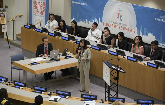 The 12th annual Youth for Human Rights International Human Rights Summit 2015