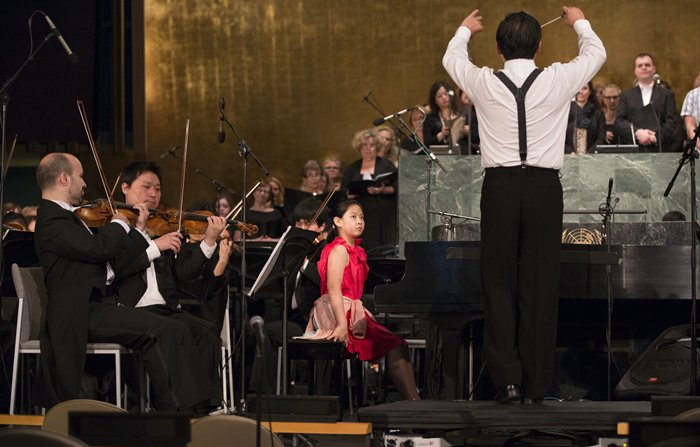 Shanghai Symphony Orchestra Play at UN