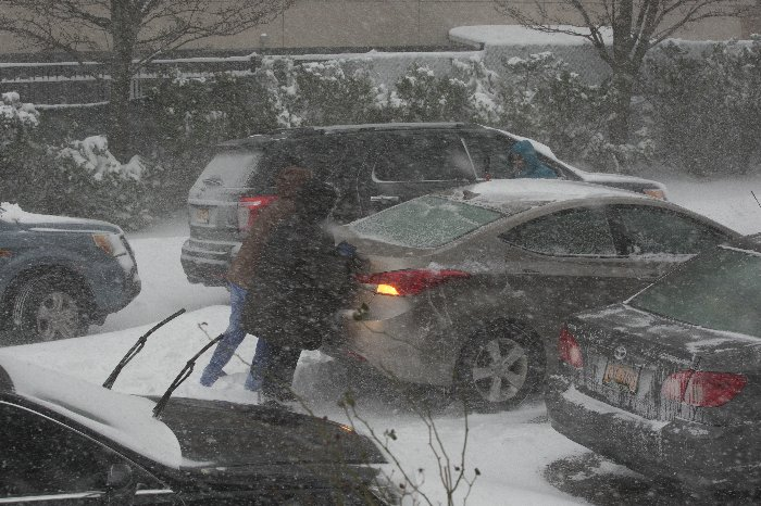 NY: Big Snow Storm 2016