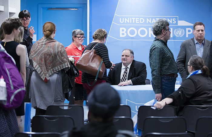 United Nations, New York, USA, April 01 2016 - Book Signing by Steve Silberman