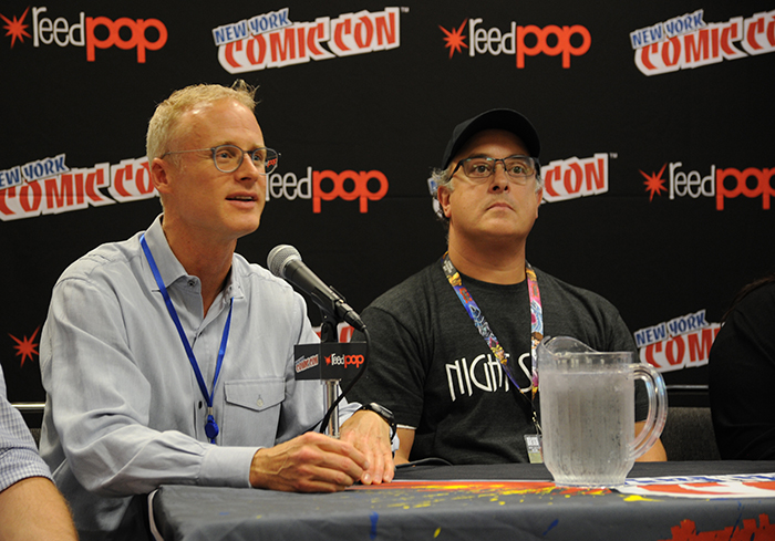 United Nations, New York, USA, October 09 2016 - Comics Uniting Nations Panel at 2016 New York Comic con Photo: Marcos Rampelotto/EuropaNewswire